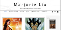 Marjorie Liu website
