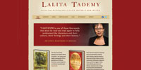 Lalita Tademy website design