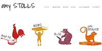 Amy Stolls author website