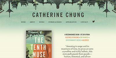catherine chung author of tenth muse