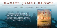 Daniel James Brown website design