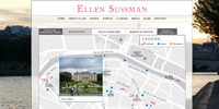 Ellen Sussman Website Design