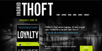 website design for Ingrid Thoft