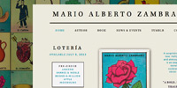 Mario Alberto Zambrano website design