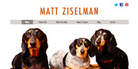 Matt Ziselman Website Design