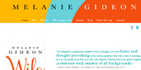 Melanie Gideon website design