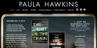Paula Hawkins Website