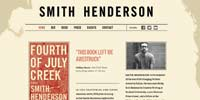 Smith Henderson author website